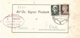 COMUNE DI VENEZIA CHIRIGNAGO - Storia Postale