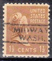 USA Precancel Vorausentwertung Preo, Locals Washington, Midway 728 - Vereinigte Staaten