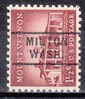 USA Precancel Vorausentwertung Preo, Locals Washington, Milton 729 - Vereinigte Staaten