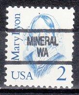 USA Precancel Vorausentwertung Preo, Locals Washington, Mineral 904 - Vereinigte Staaten