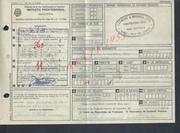 DOCUMENT COMMERCIAL IMPOTS 1981 DE CARNEIRO & MIRANDA GIAO VILA DO CONDE PORTUGAL : - Portugal