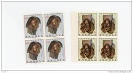Angola-1976-Masques-série   En Bloc De 4***MNH - Angola