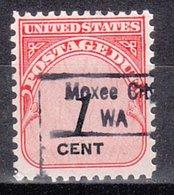 USA Precancel Vorausentwertung Preo, Locals Washington, Moxee City 843 - Vereinigte Staaten