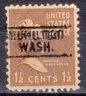 USA Precancel Vorausentwertung Preo, Locals Washington, Mukilteo 745 - Vereinigte Staaten