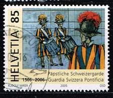 Schweiz 2005, Michel# 1945 O     500th Anniv Of Swiss Papal Guard - Gebruikt