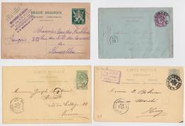 BELGIQUE - BELGIË - Beau Lot De 325 Cartes Entiers Postaux Avant 1950 - Postkaart Carte Postale Stationery Post Card PP - Entiers Postaux