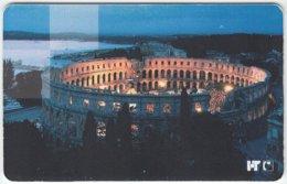 CROATIA B-296 Chip HT - Culture, Landmark, Colosseum Of Pula - Used - Croatia
