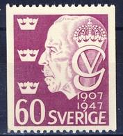 +D2921. Sweden 1947. King Gustav V. Michel 331. MNH(**) - Neufs