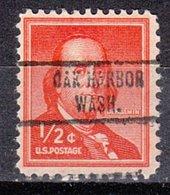 USA Precancel Vorausentwertung Preo, Locals Washington, Oak Harbor 734 - Vereinigte Staaten