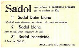 Ci Sa/Buvard Cirage Sadol Blanc (Format 21 X 12.5) (N= 11) - Shoes