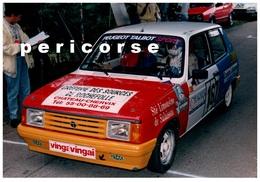 87  Beynac  Course De Côte 28 Aout 1988  (photo) - Automobiles