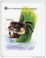 Angola-1998-Crabe-Année Internationale Des Océans-YT B45***MNH - Angola