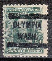 USA Precancel Vorausentwertung Preo, Locals Washington, Olympia 300-L-2 HS - Vereinigte Staaten