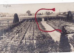 Izegem Begraafplaats Duits Kerkhof   Duitse Fotokaart - Langemark-Poelkapelle