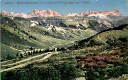 Südtirol - Dolomitenstrasse (Pordoijoch) Mit Fanisgruppe Und Tofana (504/10) * 28. 8. 1917 - Italien