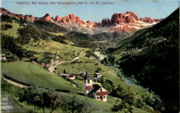 Südtirol - Bei Bozen: Der Rosengarten Mit St. Cyrpian (500/18) * Karte Von 1910 * 28. 8. 1917 - Italien
