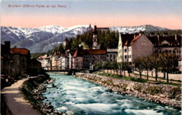Bruneck - Partie An Der Rienz (1074) * 31. 1. 1918 - Italien