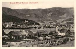Bruneck, Pustertal, Mit Dietenheim (42361) * Karte Von 1912 * 31. 1. 1918 - Italien