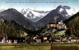 Sand In Taufers Mit Hornspitzen Und Schwarzenstein (11221) - Italien