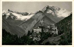 Schloß Taufers Gegen Die Hornspitzen Und Schwarzenstein (791) - Italien