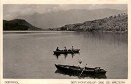 Südtirol - Der Montiggler See Bei Kaltern (505/45) * 2. 9. 1917 - Italy