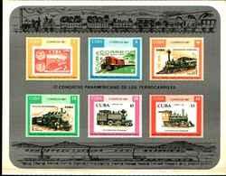 72480) CUBA - 1987 - Treni - ** MNH **-bf-come Da Foto - Cuba
