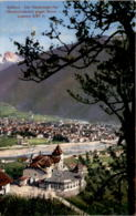 Südtirol - Der Reichriegler Hof (Guntschnabahn) Gegen Bozen U. Latemar (500/143) * 28. 8. 1917 - Bolzano (Bozen)