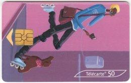 FRANCE C-302 Chip Telecom - Cartoon - Used - France
