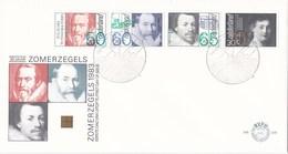 Nederland - FDC - Zomerzegels - Hugo De Groot 1583-1645 - Rechtsgeleerde/schrijver - NVPH E208 - Schrijvers
