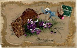 Bonne Année - Carte Celluloïd - Cartes Postales
