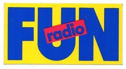 AUTOCOLLANT     FUN RADIO - Autocollants