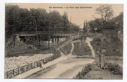 ASNIERES -- Le Pont Des Couronnes ..pas Très Courante.........à Saisir - Asnieres Sur Seine