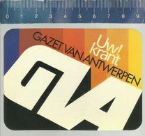 ZAKKALENDER CALENDRIER 1985 GAZET VAN ANTWERPEN UW KRANT - Petit Format : 1981-90