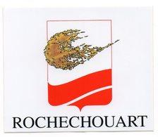 AUTOCOLLANT    87  ROCHECHOUART - Aufkleber