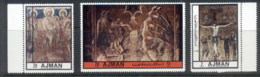 Ajman 1972 Mi#2433-2435 Religious Paintings MLH - Ajman