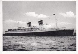 Ak Passagierschiff Hanseatic, Route Europa-New York - Allemagne