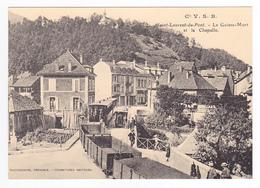 CPM TRAIN Zug VOIR DOS 38 St Laurent Du Pont Le Guiers-Mort Train Mixte Voyageurs Et Marchandises - Saint-Laurent-du-Pont
