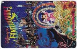JAPAN H-353 Magnetic NTT [110-174924] - Advertising, Disneyland - Used - Japan