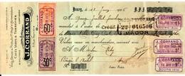 """Fiscal, Fiscaux, Banalisation Des Timbres """"Affiches"""" Sur Traite 1926 - Fiscaux"""