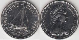 Bahamas 25 Cents 1966 Km#6 - Used - Bahamas