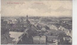 Gruss Aus Pitschen O.-Schl. - Totalansicht 1911 Bahnpost Posen-Kreuzburg - Schlesien