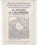 Wie Unsere Gegner Deutschland Aufteilen Wollen, Wenn Sie Als Sieger ... 1914 Propaganda / 2.Wahl - Guerra 1914-18