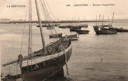 Le  Guilvinec -    Bateaux  Langoustiers. - Guilvinec