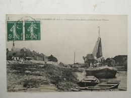 LE LION D'ANGERS  Chargement D'un Bateau Sur Les Bords De L'oudon 1909 - France
