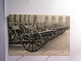 Militaria - Campagne De 1914-1915 - Expo Hotel Des Invalides à Paris - Pièces Artillerie Allemand .... - Guerre 1914-18