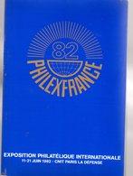 Livret : Philexfrance 1982 - Littérature