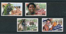 """Vanuatu - Mi.Nr. 1141 / 1144 - """"Traditionelle Tänze"""" ** / MNH - Vanuatu (1980-...)"""