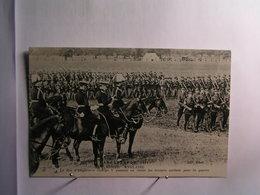 Militaria - Campagne De 1914 - Armée Anglaise - Le Roi D'Angleterre George V Passant En Revue ..... - Guerra 1914-18
