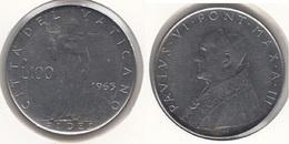 Vaticano 100 Lire 1965  Papa Paolo VI Km#.82.2 - Used - Vaticano