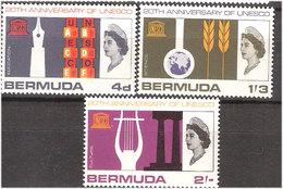 Bermuda 1966 World Championship Football In England Mi 196-198, MH(*) - Bermuda